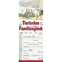 Tierisches Familienglück 2018: Familientimer mit Ferienterminen und Vorschau bis März 2019