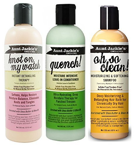 aunt-jackies-sulfate-free-trio-combo-oh-so-clean-shampoo-knot-on-my-watch-detangler-quench-leave-in-