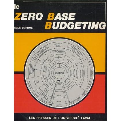 Le zéro base budgeting