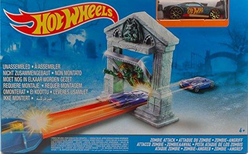 Hot Wheels HWBGH87 Pista ATTACCO Zombie DA MONTARE MODELLINO Die Cast Model Compatible con