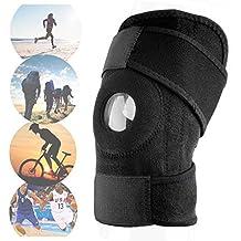 Rodillera Elastica Ajustable De Neopreno Velcro Deporte Futbol Padel Balonmano