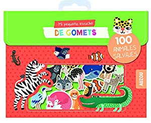 Auzou creatife- gomets, sticker, adhesivos, Multicolor (86546)