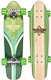 Dusters Komplett Skateboard Cruiser Flashback Nat/Blue, Green Kryptonics 28