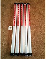 JL Golf lot de 5 tubes Clikka Ramasseur de balles. Capacité 21balles.