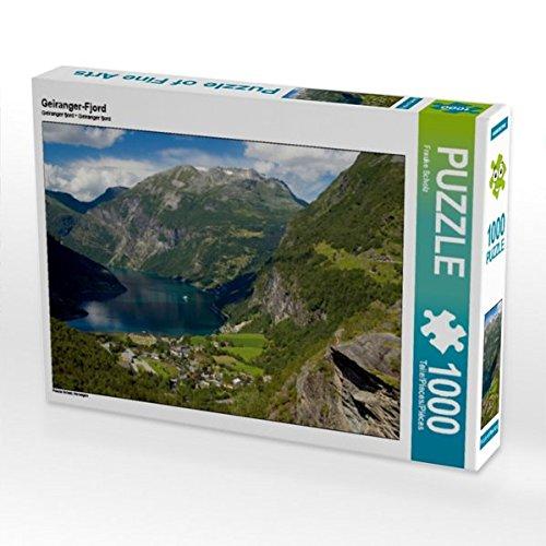 Preisvergleich Produktbild Geiranger-Fjord 1000 Teile Puzzle quer: Norwegen (CALVENDO Orte)