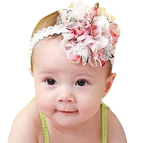 Tonsee® New Baby Flower Headband Girl Lace Infant Hair Weave Baby Accessories