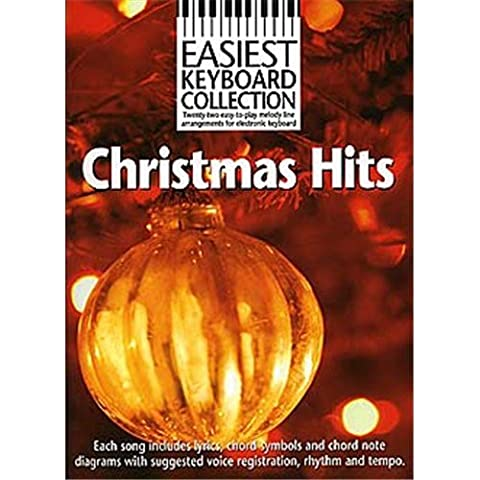 Easiest Keyboard Collection: Christmas Hits. Für Keyboard, Melodielinie, Text &
