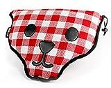 Suck UK Bear Skin Portable Picnic Blanket-Machine Washable, Waterproof Tartan Mat, Fabric (Polyester)