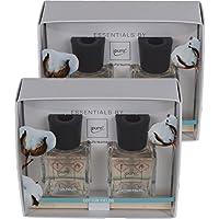 Geschenkset Essentials by ipuro Cotton Fields 2x50ml Raumduft (2er Pack) preisvergleich bei billige-tabletten.eu