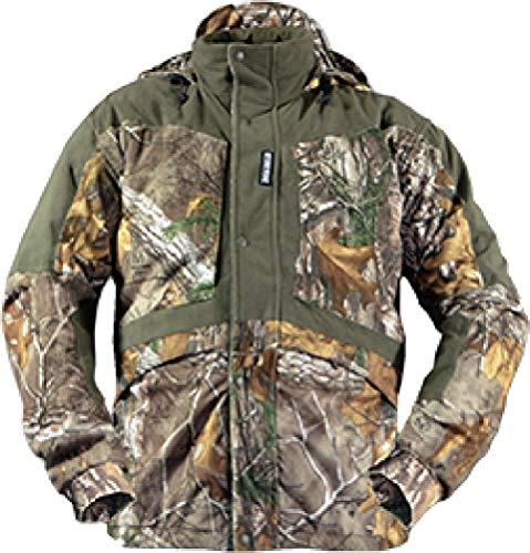 Rivers West Wasserdicht Winddicht Camouflage Fleece Hunting Gear-Artemis Jacke, Herren, RealTree Xtra - Gear-fleece-jacke
