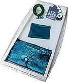 Leichtwasserbett Wassermatratze - Komplettset f. Lattenrost Leichtwassermatratze (90204)