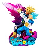 Figurine - DBZ - Master Stars Piece - Diorama Vegeta & Trunks - The Brush 2 - 18 cm