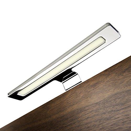 SO-TECH® Spiegelleuchte (Einzelleuchte warmweiß OHNE Trafo) 12V Badleuchte Aufbauleuchte Schrankleuchte Möbelleuchte
