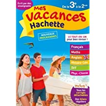 Mes vacances Hachette 3E/2nde - Cahier de vacances
