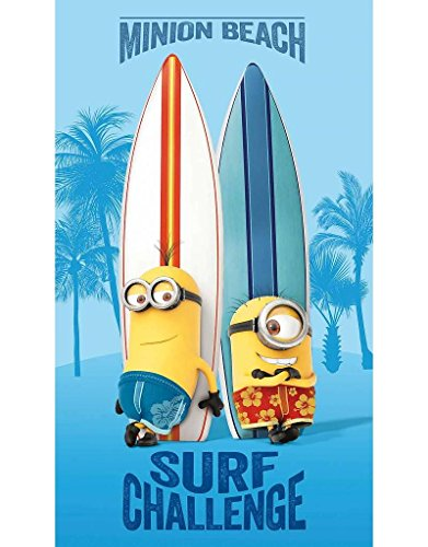 Minions–toalla de baño/playa 70x 120cm)–Surf