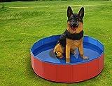 Fuloon Hunde Badewanne 20cm hoch Umweltfreundliche Haustier Pool Bade für Haustier Schwimmen Pool