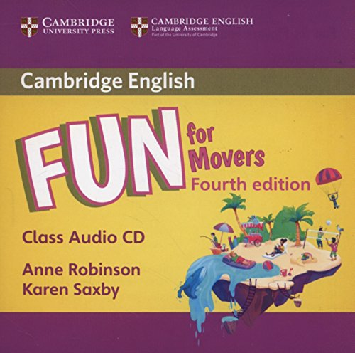 Fun for Movers Class Audio CD Fourth Edition