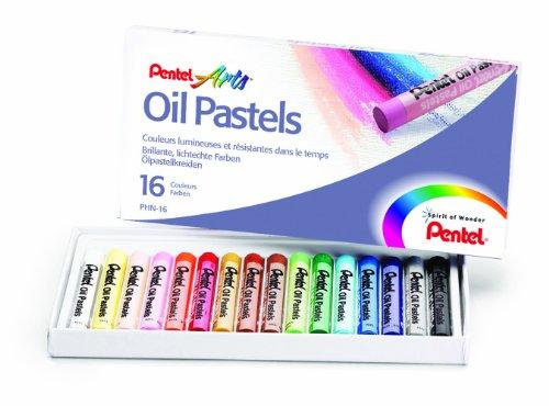 pentel-standard-oil-pastels-pack-of-16