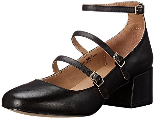 Chinese Laundry Moto Cuir Talons Black