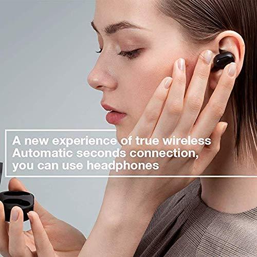 Xiaomi Redmi Airdots, TWS Wireless Bluetooth 5.0 Headphones Charging Box True Stereo Sound Wireless Bluetooth Headphones with Microphone Hands-Free Headphones AI Control black - 5