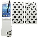 SAMRICK - Samsung i9190 Galaxy S4 IV Mini & i9192 Galaxy S4 IV Mini (Dual-Sim) - Polka Dots Speziell