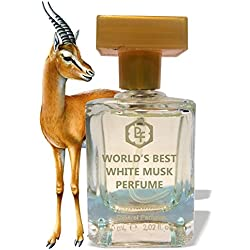 World's Best White Musk Attar Perfume ( 100% Real Fragrance of Musk ) by Parag Fragrances Best Perfume For Men , High Long Lasting Perfume For Men 60ml