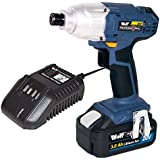 Wolf Professional 20v Li-ion Cordless Impact Driver Kit Battery   1 Hour Charger