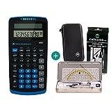 Texas Instruments TI-30 Eco RS + Schutztasche + Geometrie-Set