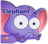 Elephant: Cutout Board Book