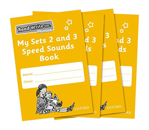 Read Write Inc. Phonics: My Sets 2 and 3 Speed Sounds Book Pack of 30