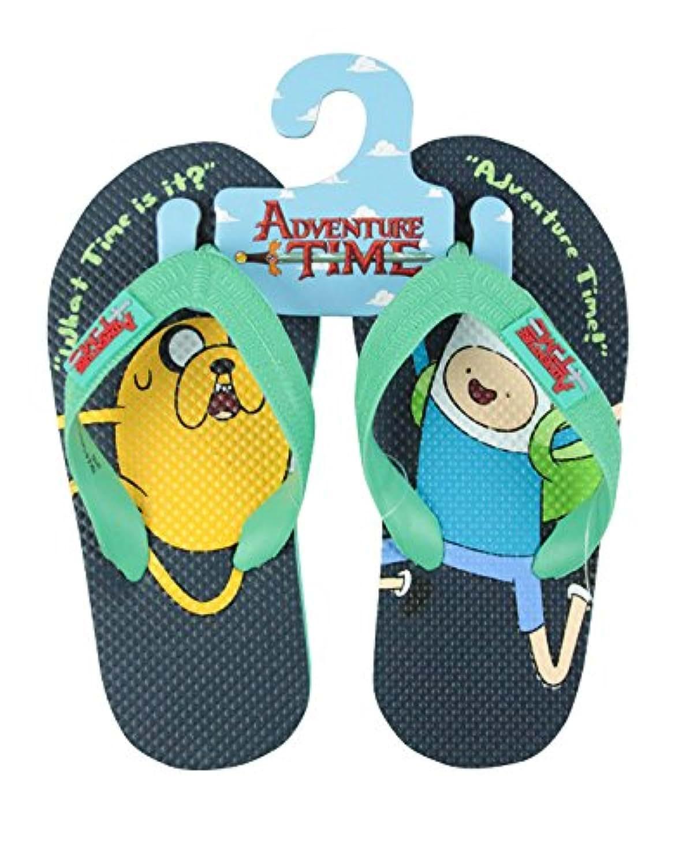 Official Adventure Time Finn And Jake Kid's Flip-Flops (1-2 UK)