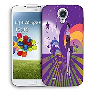 Snoogg Abstract Illustration Designer Protective Back Case Cover For Samsung Galaxy S4