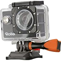 Rollei Actioncam 300 - Sportscam, HD Video Resolution 720p/30fps - Waterproof up to 40 Meters - Incl. Rollei Safety Pad