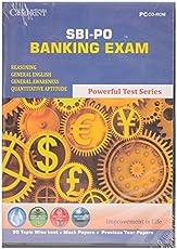 SBI-PO Banking Exam - TEST PREPARATION CDROM- EDUCATIONAL CD