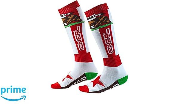 0356 ONeal Unisex Socken Pro MX California Rot