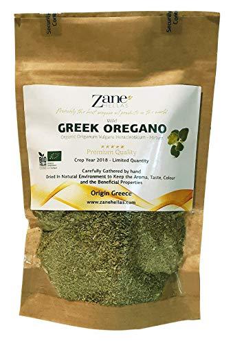 Zane Hellas Culinary Greek Wild Dried Oregano Herb Leaves 2.80 oz. - 80 gr. Crop 2018. Limited Quantity