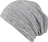 leichte Mütze mit bunten Farbeffekten für Damen und Herren - unisex (grey)