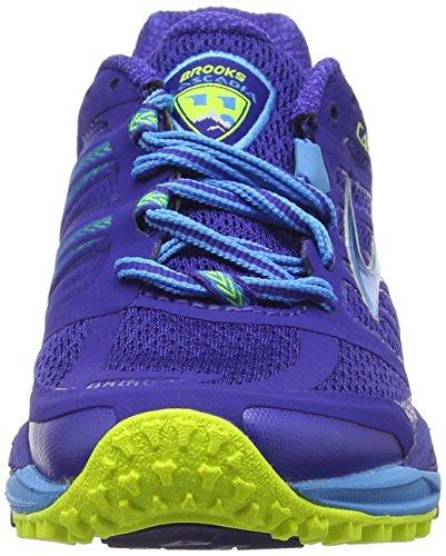 Brooks Cascadia 11, Chaussures de Running Compétition Femme Bleu (Blau)