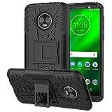 Case Collection Elegante custodia per Motorola Moto G6 Plus Cover ultra resistente e anti-urto per qualunque genere di attività con supporto cavalletto integrato per Motorola Moto G6 Plus custodia