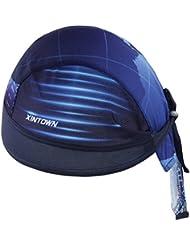 GWELL Top Bandana Cap Atmungsaktiv Kopftuch Bikertuch UV Schutz Fahrrad Erwachsene Radsport