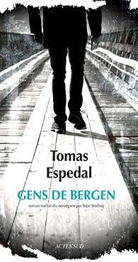 Gens de Bergen par Tomas Espedal