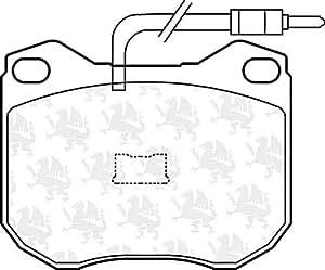 QUINTON HAZELL BP251 Kit de plaquettes de frein, frein à disque