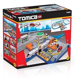 Tomy - 85401 - Tomica Coffrets et Circuits - Coffret Circuit Métropolis