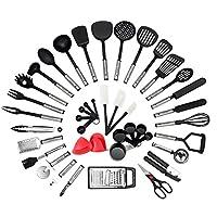 Pourquoi NEXGADGET 42 Pieces Lot d'Ustensiles de Cuisine ?  NEXGADGET offre une vaste sélection d'accessoires de cuisine conçus pour n'importe quelle maison.  Cet ensemble de gadgets et outils de 42 pièces est l'ensemble idéal pour répondre à tous vo...