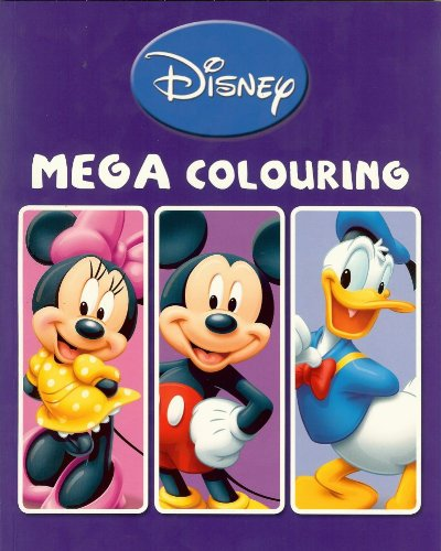 Disney Mickey Mouse Clubhouse  Mega Story Colouring Book