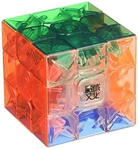 MoYu AoLong V2 3x3x3 Speed Cube Enhanced Edition Stickerless Transparent by Moyu
