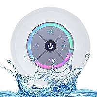 Luwu-Store Bluetooth Shower Speaker Waterproof Portable Wireless Bluetooth 4.0 Speaker with Super Bass and HD Sound