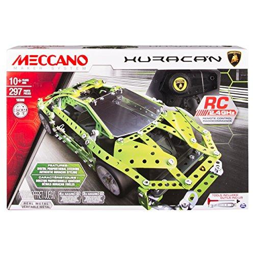 Meccano 6028405 - Set Costruzioni Lamborghini Huracan Radiocomandata