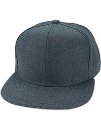 Sense42 Snapback Cap Damen Herren Denim Jeans Optik Hip Hop Cap One Size