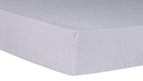Trend Lab Safari Chevron Dot Spannbetttuch Kinderbett, schwarz/weiß, 6Zählen (Schwarz Und Weiß Chevron)